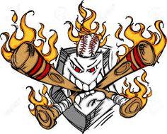 Buy Softball Baseball Plate and Bats Flaming Cartoon L by chromaco on GraphicRiver. Cartoon Image of Flaming Baseball Bats and Home Plate with Baseball Baseball Plate, Espn Baseball, Baseball Socks, Baseball Season, Baseball Caps, Free Vector Illustration, Portrait Illustration, Cartoon Images, Cartoon Drawings