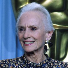 Jessica Tandy, she's gone now but this what old ladies should look like....natural and real. wrinkles and all.