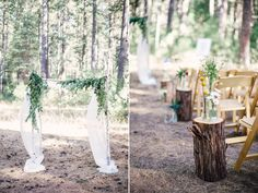 The forests of Yosemite National Park makes for the perfect venue setting.