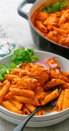 Chicken Pesto Pasta Salad, Spicy Chicken Pasta, Asian Chicken Recipes, Indian Chicken, Chicken Pasta Recipes, Penne Pasta, Butter Chicken, Creamy Chicken, Dishes Recipes