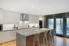 Contemporary kitchen by Johnson & Associates Interior Design