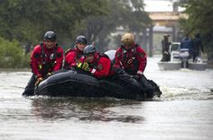 3 firefighters from the Greeley Fire Department have been sent to Texas to assist with ongoing rescue efforts resulting from devastation of Hurricane Harvey.