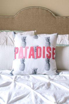 Delta Gamma Paradise Pillow