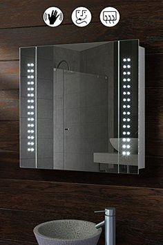 My Furniture 60 Led Illuminated Bathroom Cabinet Mirror Https