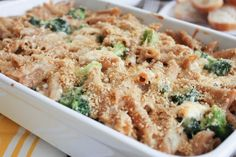 Cheesy-Baked-Whole-Wheat-Penne-with-Chicken-and-Broccoli-casserole