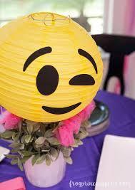 Resultado de imagen para emoji party ideas