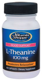L-Theanine - Buy L-Theanine (100 MG) 60 Capsules at the vitamin shoppe