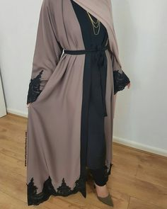 "1,499 Likes, 40 Comments - A B A Y A S & H I J A B S (@aaliyacollections) on Instagram: ""The Amal Abaya is now available in a gorgeous Mocha colour and can be pre-ordered in all sizes on…"""