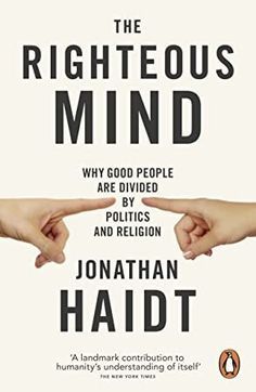 Booktopia has The Righteous Mind, Why Good People are Divided by Politics and Religion by Jonathan Haidt. Buy a discounted Paperback of The Righteous Mind online from Australia's leading online bookstore. Stavanger, Trondheim, Believe, Free Reading, Reading Lists, Book Lists, Got Books, Books To Read, Cover Art