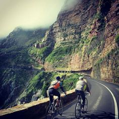 Road ride Chapmans Peak Cape Town Tourism, South Africa, Cycling, Country Roads, Mountains, Places, Travel, Instagram, African