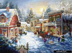 Christmas landscape by Nicky Boehme-03