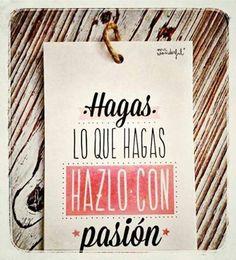 La Pasión y la Fé es lo que te va a impulsar para dar el salto hacia el lugar donde quieres estar mañana... Saca Tu Pasión y Comienza Hoy!! http://pilarmartinnetworker.com