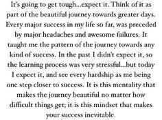 Expect the tough. Achieve success.