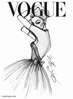 What a gorgeous illustration. This absolutely belongs on a modern cover of Vogue. What a gorgeous illustration. This absolutely belongs on a modern cover of Vogue. Hayden Williams, Vogue Fashion, Fashion Art, Trendy Fashion, Fashion Painting, High Fashion, Fashion Cover, Chanel Fashion, India Fashion
