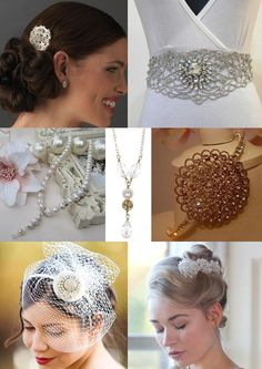 Vintage Wedding Jewellery and Accessories from The Wedding Community