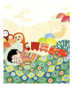 Parce qu'il est déjà très tard, que je vais rejoindre le pays des rêves, quelques petites illustrations d'Ilya GREEN, pour le plaisir... BONNE NUIT Bientôt une page lui sera consacrée, en attendant, pour connaître son travail ...
