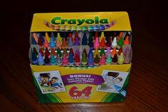 Crayola Crayons | Box of 64 count Crayola Crayons - $2.39 on a rollback