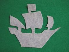 Toddler Activity - Pirate Ship Flannelboard - Add numbers, letters or colors to make more educational