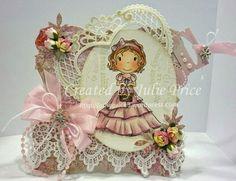 The Paper Nest: Heart Basket Sophie....