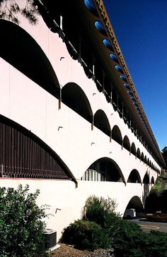 Marin Civic Center, San Raphael  by Frank Lloyd Wright in 1957