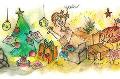 """Ana Rita, you got a message... """"Se me cheira a Natal? Claro… Já te esqueceste que aqui basta cair a primeira folha de Outono para os pais natais, duendes e renas invadirem as montras das lojas? É de doidos… (...) Abrimos oficialmente a época com a Árvore de Natal. É a loucura completa. Os miúdos ficam histéricos quando nos veem tirar as caixas de cartão com os enfeites."""""""