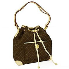 Rioni Signature Shoulder drawstring bag   Overstock.com  132.99 Michael  Kors Bag, Handbags Online 1dcf2340dc