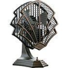 This item not antique but a great art deco design. Fitzgerald Art Deco Fan Convinces Us to Ditch Central Air Estilo Art Deco, Muebles Estilo Art Nouveau, Muebles Art Deco, Art Deco Period, Art Deco Era, Casa Art Deco, Design Industrial, Art Deco Furniture, Retro Furniture