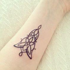 Evening star tattoo LOTR-Buzzfeed tumblr