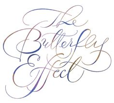 contemporary script fonts | Butterfly Modern Spencerian Script ~ Iskra Design