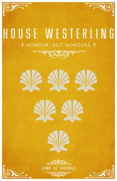Game of Thrones House Westerling by LiquidSoulDesign