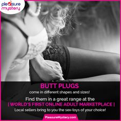 #Shop for #butt #plugs at #PleasureMystery! #Local #sellers bring to you the high-functional #sex #toys! #UnitedKingdom #SexToys #Sellers #Adult #Marketplace