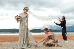 Patagonian Pairing: Sofía Sanchez Barrenechea and Alexandre de Betak's Wedding – Vogue