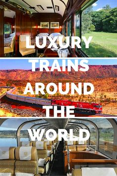Jump back to a different era, when traveling on board luxury trains around the world was as much a part of the adventure as the destination.
