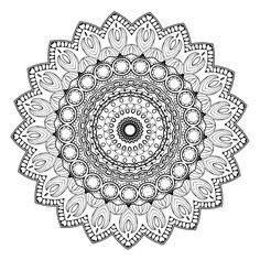 Color yourself calm with these 20 FREE printable mandala templates, including pages for both beginners and those advanced in coloring!