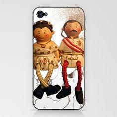sissi & franz iPhone & iPod Skin by Francesco Mestria - $15.00