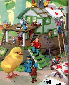 Gingerbread Cottage: The Teenie Weenies