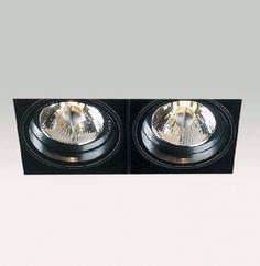 Delta Light MiniGrid In Trimless 2 QR Spot wit