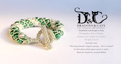 #netting #bracelet with #beaded #clasp #silver colour. This is the silver version of the previous #elegant bracelet https://www.facebook.com/dragons.and.cats/photos/pb.273870492760692.-2207520000.1423651480./425134650967608/?type=3&theater It is really #cool ! #Braccialetto #perla #argento #elegante