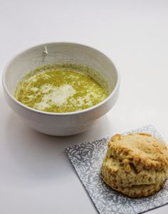 Oishii Adventure: Broccoli & Pine Nut Soup