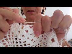 CAMINHO DE MESA PRINCESA #6 - YouTube Arm Warmers, Youtube, Diy And Crafts, Crochet, Macrame, Crochet Table Runner, Crocheting Patterns, Tutorials, Railings