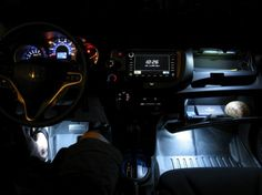 Adding footwell and glove box lights to your ride