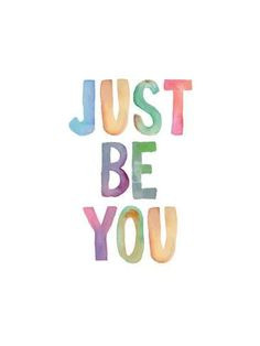Art Print: Just Be You by Brett Wilson : 16x12in