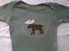 moose baby gear by GnomeGoods.etsy.com