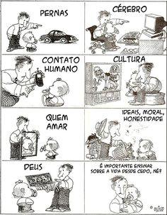 """deposito-de-tirinhas: """" por Quino http://www.quino.com.ar/ """""""