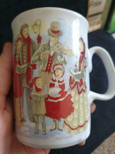 Vintage Sweden Christmas ceramic mug