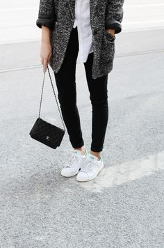 perfect outfit casual and chanel