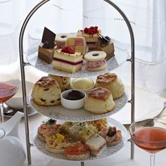 Afternoon Tea at The Intercontinental Hotel, Park Lane, London