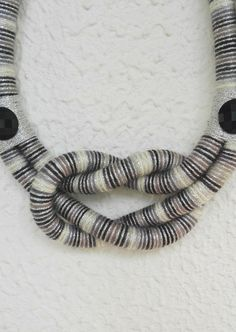Hey, I found this really awesome Etsy listing at https://www.etsy.com/listing/268016382/rope-necklace-statement-necklace-unique