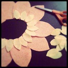 DIY flower costume