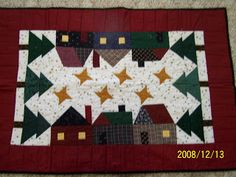 Log Cabin Quilter: CHRISTMAS QUILTS